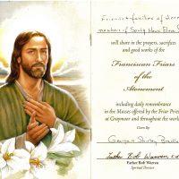 Embracing Newtown Mass Cards 250