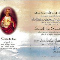 Embracing Newtown Mass Cards 252
