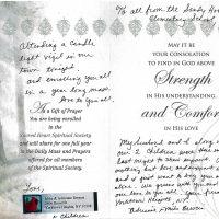 Embracing Newtown Mass Cards 255