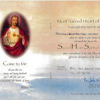 Embracing Newtown Mass Cards 264