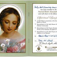 Embracing Newtown Mass Cards 265