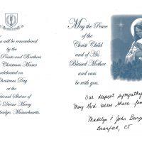 Embracing Newtown Mass Cards 269