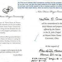 Embracing Newtown Mass Cards 272