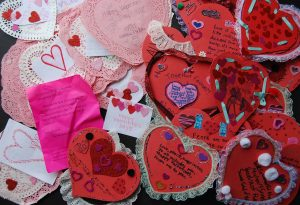 Embracing Newtown Valentines Day 1
