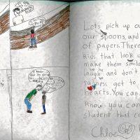 Embracing Newtown Volunteer Favorite Letters 1