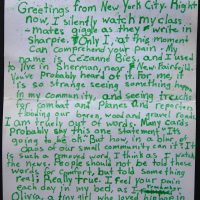 Embracing Newtown Volunteer Favorite Letters 116