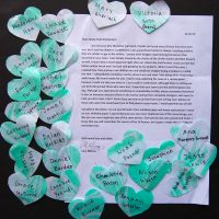 Embracing Newtown Volunteer Favorite Letters 121