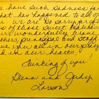 Embracing Newtown Volunteer Favorite Letters 198