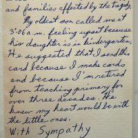 Embracing Newtown Volunteer Favorite Letters 205