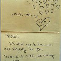 Embracing Newtown Volunteer Favorite Letters 207