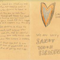 Embracing Newtown Volunteer Favorite Letters 21
