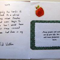 Embracing Newtown Volunteer Favorite Letters 211