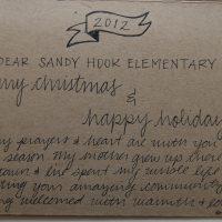 Embracing Newtown Volunteer Favorite Letters 212