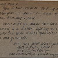 Embracing Newtown Volunteer Favorite Letters 213