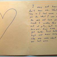 Embracing Newtown Volunteer Favorite Letters 227