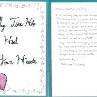 Embracing Newtown Volunteer Favorite Letters 23