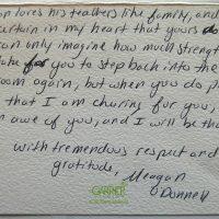 Embracing Newtown Volunteer Favorite Letters 234