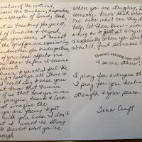 Embracing Newtown Volunteer Favorite Letters 239