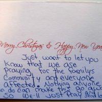 Embracing Newtown Volunteer Favorite Letters 247