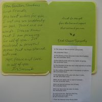 Embracing Newtown Volunteer Favorite Letters 252