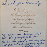 Embracing Newtown Volunteer Favorite Letters 253