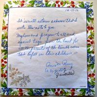 Embracing Newtown Volunteer Favorite Letters 261