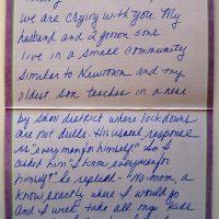 Embracing Newtown Volunteer Favorite Letters 262