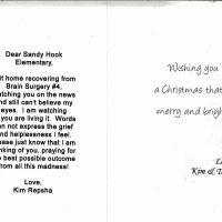 Embracing Newtown Volunteer Favorite Letters 27