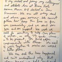 Embracing Newtown Volunteer Favorite Letters 270
