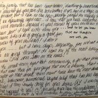 Embracing Newtown Volunteer Favorite Letters 271