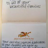 Embracing Newtown Volunteer Favorite Letters 276