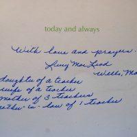 Embracing Newtown Volunteer Favorite Letters 278