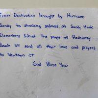 Embracing Newtown Volunteer Favorite Letters 286