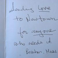 Embracing Newtown Volunteer Favorite Letters 289