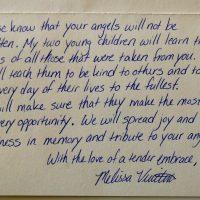 Embracing Newtown Volunteer Favorite Letters 291