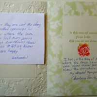 Embracing Newtown Volunteer Favorite Letters 292