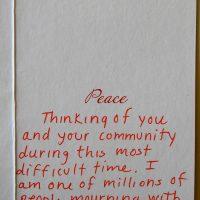 Embracing Newtown Volunteer Favorite Letters 302