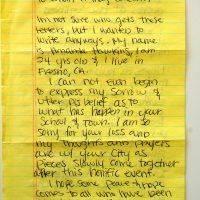 Embracing Newtown Volunteer Favorite Letters 308