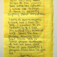Embracing Newtown Volunteer Favorite Letters 309