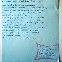 Embracing Newtown Volunteer Favorite Letters 318