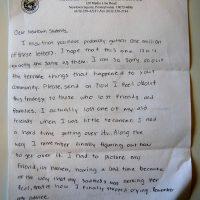 Embracing Newtown Volunteer Favorite Letters 319