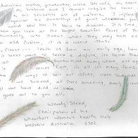 Embracing Newtown Volunteer Favorite Letters 32
