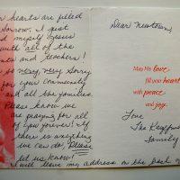 Embracing Newtown Volunteer Favorite Letters 322