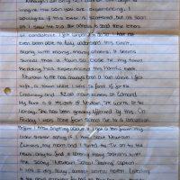Embracing Newtown Volunteer Favorite Letters 324