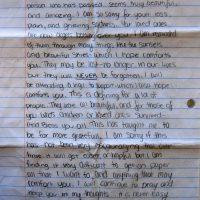 Embracing Newtown Volunteer Favorite Letters 327