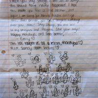 Embracing Newtown Volunteer Favorite Letters 328