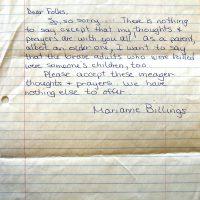 Embracing Newtown Volunteer Favorite Letters 329