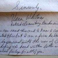 Embracing Newtown Volunteer Favorite Letters 333