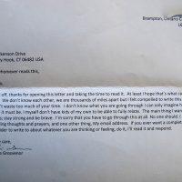 Embracing Newtown Volunteer Favorite Letters 340