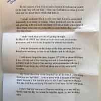 Embracing Newtown Volunteer Favorite Letters 342